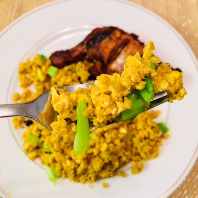 Cauliflower Rice – Egg Fried Rice