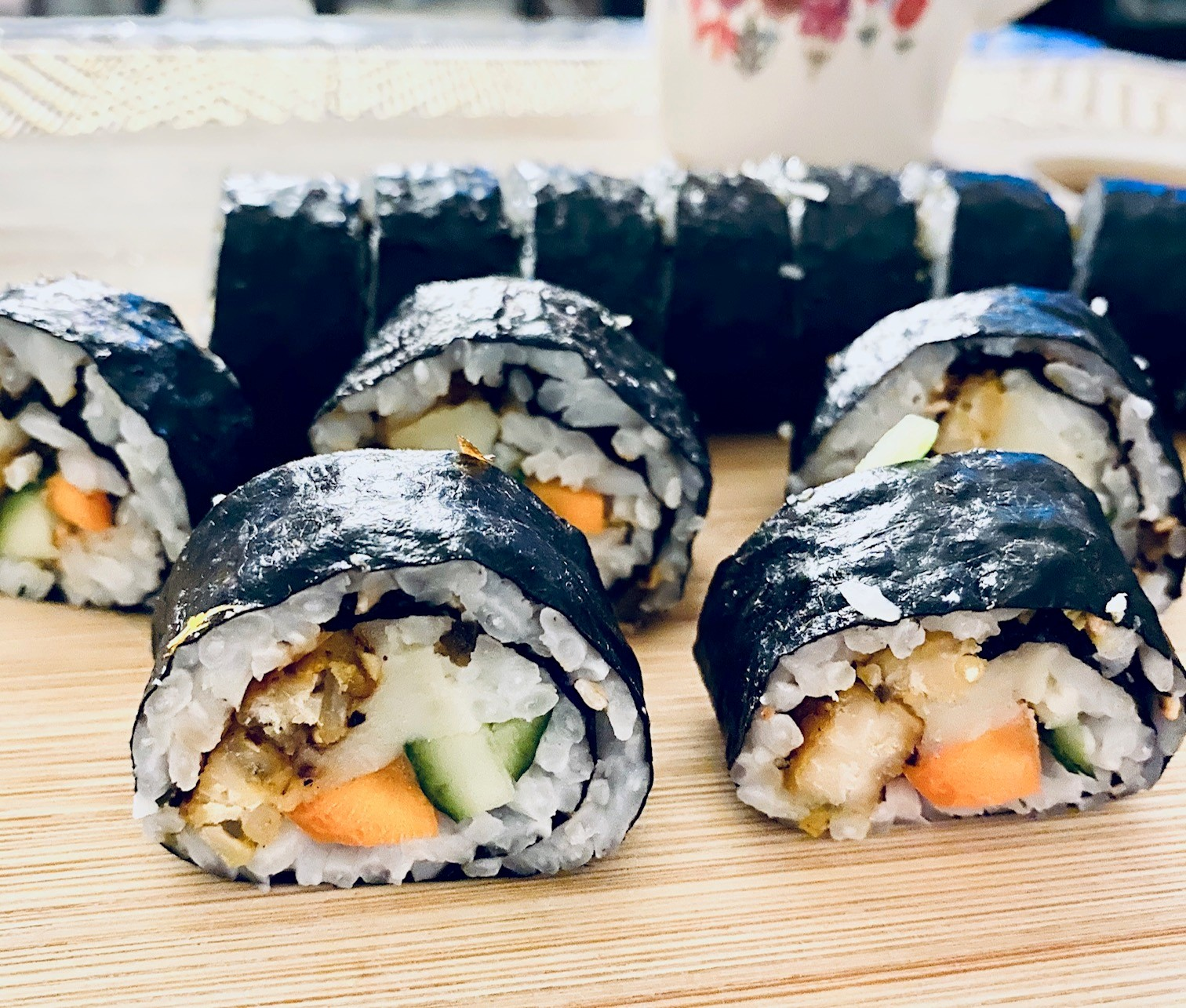 Tempeh Rolls with Veggies